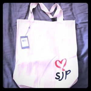 SJP BY SARAH JESSICA PARKER canvas tote bag